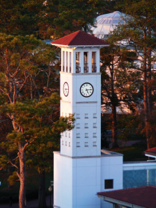 Emory University is one of many colleges that have demonstrated an increasing commitment to sustainability within the past decade. / Cox Hall Clock Tower / Brett Weinstein / Creative Commons Flickr Images