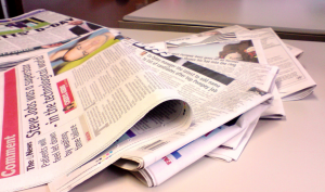 Newspaper colour / Jon S / Creative Commons Flickr Images